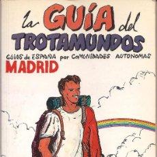 Folletos de turismo: LA GUIA DEL TROTAMUNDOS. MADRID. 1987/88. Lote 25607861