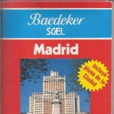 Folhetos de turismo: MADRID. GUIA BAEDEKER SGEL. 1989. Lote 25607862