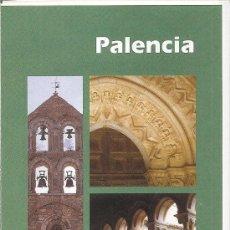 Folletos de turismo: PALENCIA. EL ROMANICO. CASTILLA Y LEON. MEDIEVAL.. Lote 19238056