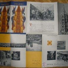 Folletos de turismo: ANTIGUO FOLLETO DE TOLOSA (FRANCIA).DESPLEGABLE.. Lote 27212876