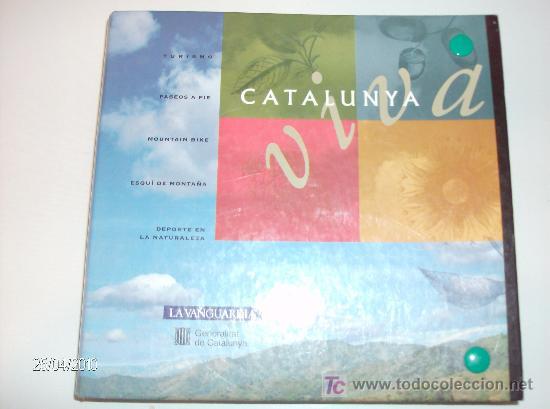 FICHAS CATALUNYA VIVA LA VANGUARDIA (Coleccionismo - Folletos de Turismo)
