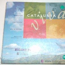 Folletos de turismo: FICHAS CATALUNYA VIVA LA VANGUARDIA. Lote 25727765
