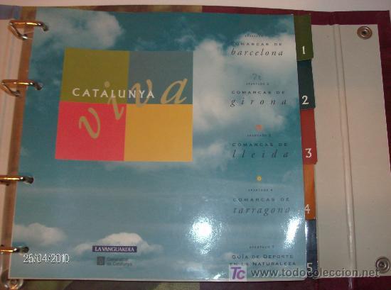 Folletos de turismo: FICHAS CATALUNYA VIVA LA VANGUARDIA - Foto 2 - 25727765