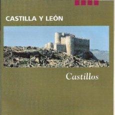 Folletos de turismo: CASTILLA Y LEON. CASTILLOS. MEDIEVAL Y DE OTRAS ÉPOCAS.. Lote 19531157