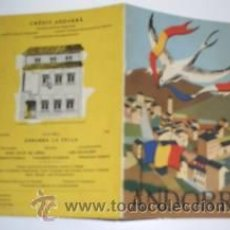 Folletos de turismo: ANDORRA. MAPA DESPLEGABLE CON INFO TURISTICA. P404. Lote 19577859