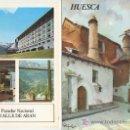Folletos de turismo: HUESCA.COLECCION ESPAÑA MONUMENTAL.TRIPTICO CON FICHA DEL PARADOR. MAS EN RASTRILLOPORTOBELLO. Lote 26307638