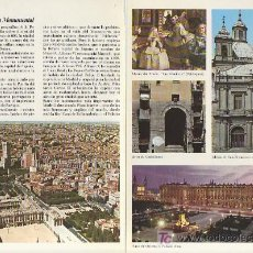 Folletos de turismo: MADRID.COLECCION ESPAÑA MONUMENTAL.TRIPTICO CON FICHA DEL PARADOR - MAS EN RASTRILLOPORTOBELLO. Lote 25263650