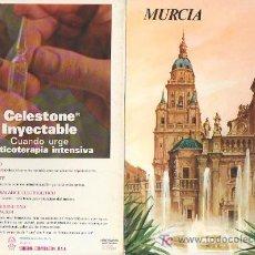 Folletos de turismo: MURCIA.COLECCION ESPAÑA MONUMENTAL.TRIPTICO CON FICHA DEL PARADOR - MAS EN RASTRILLOPORTOBELLO. Lote 26121441