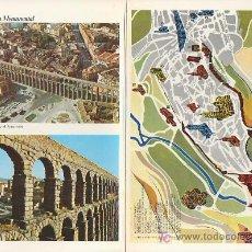 Folletos de turismo: SEGOVIA.COLECCION ESPAÑA MONUMENTAL.TRIPTICO CON FICHA DEL PARADOR -MAS EN RASTRILLOPORTOBELLO. Lote 27140229