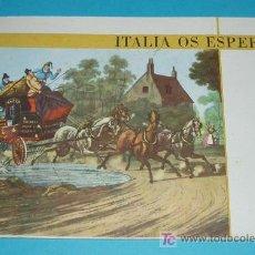 Folletos de turismo: FOLLETO TURISMO ITALIA OS ESPERA. TEXTO DE FEDERICO DE AGOSTINI. Lote 19906693