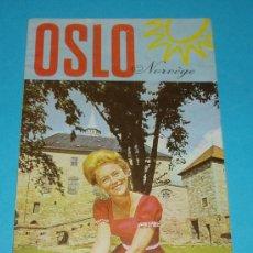 Folletos de turismo: FOLLETO DE TURISMO. OSLO. NORUEGA. 1969. Lote 19984372