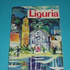 Folletos de turismo: FOLLETO DE TURISMO. LIGURIA. ITALIA. Lote 19984467