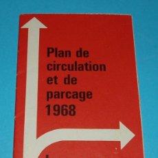 Folletos de turismo: FOLLETO DE TURISMO. PLANO DE LAUSANNE. Lote 19984511