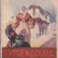 Folletos de turismo: EXTREMADURA. FOLLETO DE TURISMO, EN INGLÉS. Lote 20013201