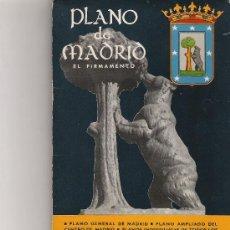 Folletos de turismo: PLANO DE MADRID - EL FIRMAMENTO. Lote 20072789