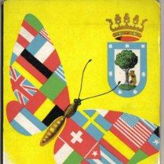 Folletos de turismo: PROGRAMA FESTAS DE SANTO IZIDRO; MADRID 1958, ILUSTRACIONES CON MAPA ESQUEMATICO DE MADRID,. Lote 27418495