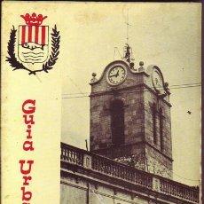 Folletos de turismo: GUIA URBANA DE MOLLET.. Lote 24519787