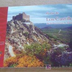 Folletos de turismo: RUTA DE LOS CASTILLOS DE LA PROVINCIA DE BADAJOZ.. Lote 20972588