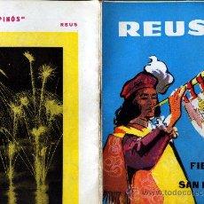 Folletos de turismo: REVISTA DE FIESTAS DE SAN PEDRO DEL AÑO 1960 VER FOTOS ADICIONALES . Lote 21266127