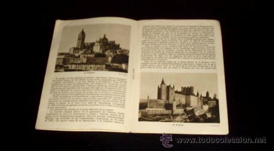 Folletos de turismo: SEGOVIA - FOLLETO TURÍSTICO PATRONATO NACIONAL DE TURISMO - Años 30 - Foto 2 - 26624854