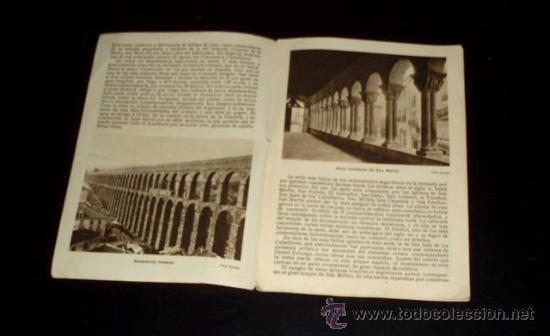 Folletos de turismo: SEGOVIA - FOLLETO TURÍSTICO PATRONATO NACIONAL DE TURISMO - Años 30 - Foto 3 - 26624854