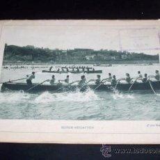 Folletos de turismo: SAN SEBASTIAN - FOLLETO TURISTICO EN ALEMAN - 1930 APROX - 12 ILUSTRACIONES A TODA PÁGINA -REGATAS. Lote 27636781