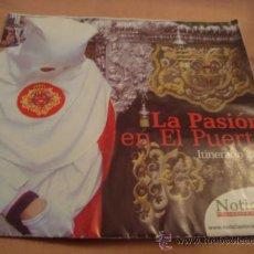 Folletos de turismo: ITINERARIO SEMANA SANTA DE CADIZ 2010. Lote 21624030
