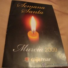 Folletos de turismo: ITINERARIO SEMANA SANTA DE CADIZ 2009. Lote 21624118