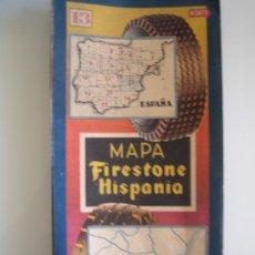 Folletos de turismo: MAPA FIRESTONE HISPANIA Nº 13. Lote 23067729