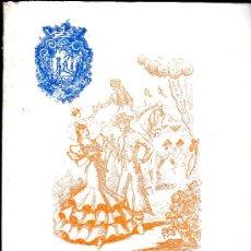 Folletos de turismo: CARTAYA 1957, REVISTA DE FERIAS Y FIESTAS, CONTIENE FOTOGRAFIAS Y PUBLICIDAD. Lote 24756862