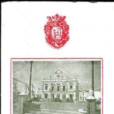 Folletos de turismo: CARTAYA 1952, REVISTA FERIAS Y FIESTA. CONTIENE FOTOGRAFIAS Y PUBLICIDAD. Lote 24756920