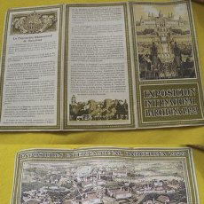 Folletos de turismo: FOLLETO TURISMO : EXPOSICIÓN INTERNACIONAL BARCELONA 1929. Lote 25000389