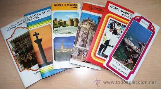 VARIOS FOLLETOS TURISTICOS AÑOS 70. ESPAÑA (Coleccionismo - Folletos de Turismo)