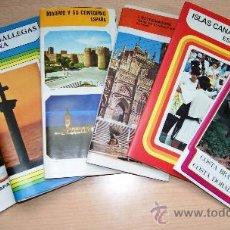 Folletos de turismo: VARIOS FOLLETOS TURISTICOS AÑOS 70. ESPAÑA. Lote 25113087