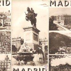 Folletos de turismo: FOLLETO TURÍSTICO * MADRID * TRÍPTICO. Lote 25347305