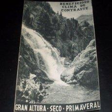 Folletos de turismo: ANTIGUO FOLLETO PUBLICITARIO - BALNEARIO DE PANTICOSA. Lote 27364979