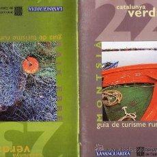 Folletos de turismo: CATALUNYA VERDA - TURISME RURAL - MONTSIA / BAIX EBRE - ED. GNT.CATALUNYA/ LA VANGUARDIA - AÑO 1996. Lote 25742841
