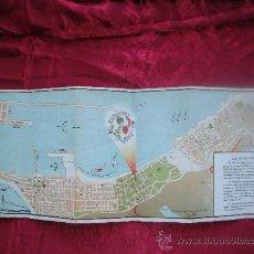 Folletos de turismo: FOLLETO TURISTICO DE CANARIAS EXPRES 1954 EN INGLES. Lote 26669322