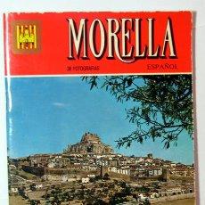 Folletos de turismo: MORELLA / GUIA TURISTICA / HISTORIA Y ARTE RUTAS / AÑO 1980 / CASTELLON / VALENCIA. Lote 27154948