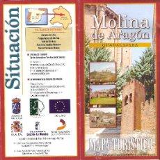 Molina De Aragon Mapa.Molina De Aragon Guadalajara Mapa Turistico Historia Gastronomia Fiestas