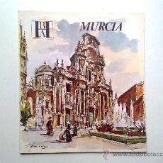 Folletos de turismo: MURCIA. EDITADO POR EL BANCO HISPANO AMERICANO EN 1968/69. FISA ESCUDO DE ORO. Lote 27963696