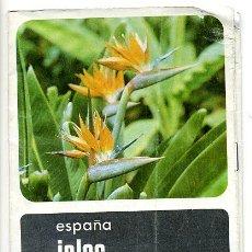 Folletos de turismo: FOLLETO TURISTICO ISLAS CANARIAS - 1968. Lote 28106074