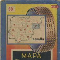 Folletos de turismo: MAPA FIRESTONE HISPANIA Nº 6. Lote 28276284