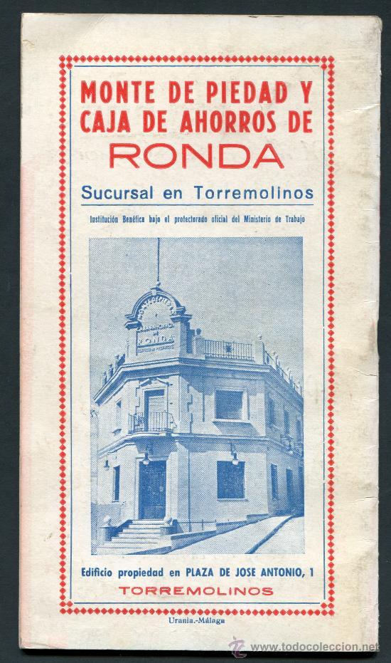 Folletos de turismo: TORREMOLINOS, Málaga, Programa Feria 1955 - Foto 2 - 28554650