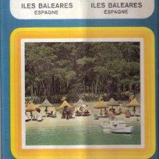 Folletos de turismo: ILES BALEARES. ISLAS BALEARES. MINISTERIO DE INFORMACIÓN Y TURISMO. EN FRANCES. ANTIGUO.. Lote 29017995