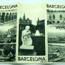 Folletos de turismo: BARCELONA FOLLETO DIRECCIÓN GENERAL TURISMO AÑOS 40. Lote 278370923