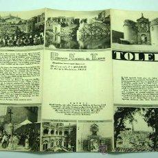 Folletos de turismo: TOLEDO FOLLETO PATRONATO NACIONAL TURISMO AÑOS 40 EN ALEMÁN. Lote 29021069