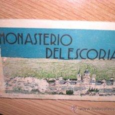 Folletos de turismo: MONASTERIO DEL ESCORIAL - FOLLETO PINTURAS - TIPO POSTAL. Lote 29244623
