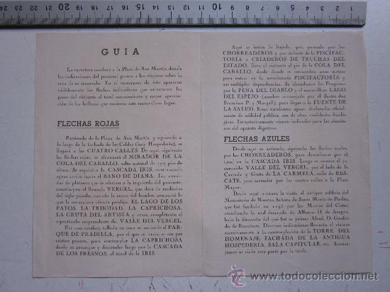 Folletos de turismo: MONASTERIO DE PIEDRA, ZARAGOZA - GUIA DEL VISITANTE - AÑO 1944 - Foto 3 - 29808029