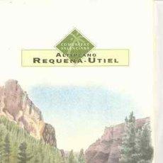 Brochures de tourisme: ALTIPLANO REQUENA-UTIEL - LAND OF VALENCIA - (ENGLISH). Lote 29871117